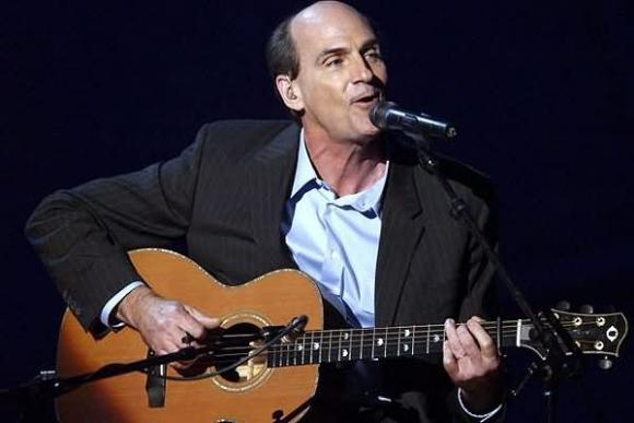 James Taylor at Tanglewood