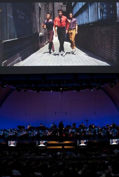 West Side Story - Film with Live Orchestra at Tanglewood
