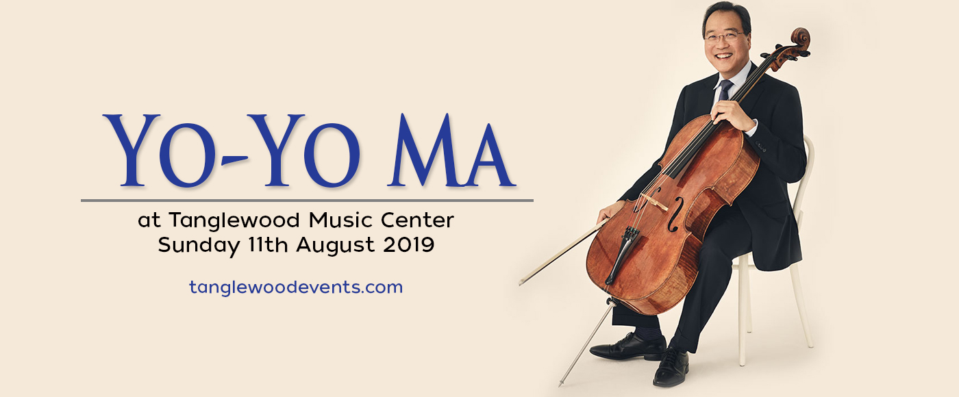 Yo-Yo Ma at Tanglewood Music Center