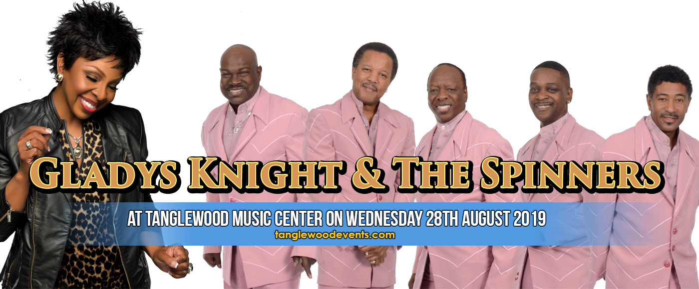 Gladys Knight & The Spinners at Tanglewood Music Center