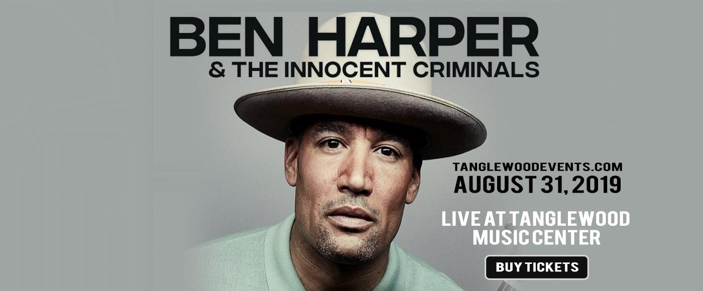 Ben Harper & The Innocent Criminals at Tanglewood Music Center