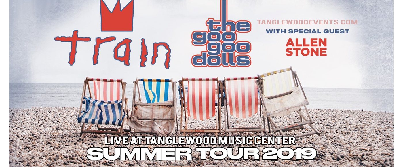 Train, Goo Goo Dolls & Allen Stone at Tanglewood Music Center