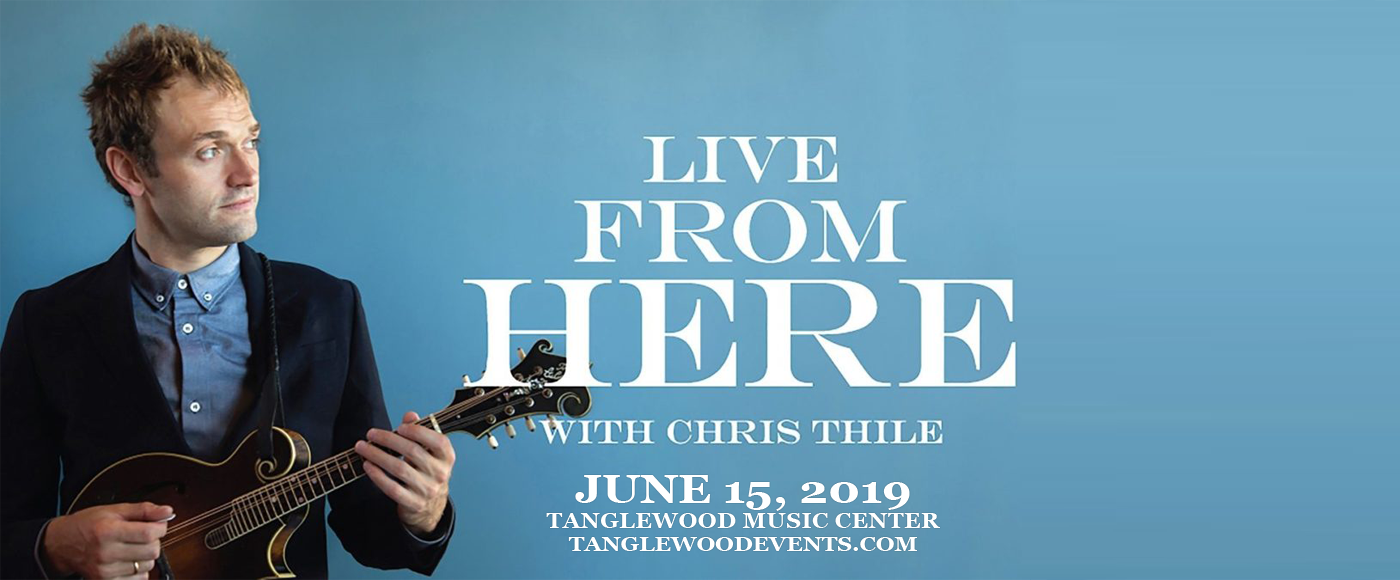 Chris Thile at Tanglewood Music Center