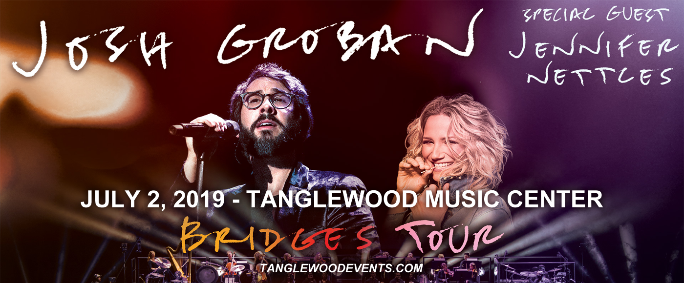 Josh Groban at Tanglewood Music Center