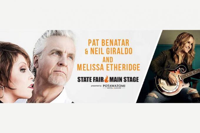 Pat Benatar, Neil Giraldo & Melissa Etheridge at Tanglewood Music Center