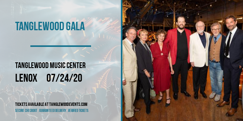 Tanglewood Gala [CANCELLED] at Tanglewood Music Center