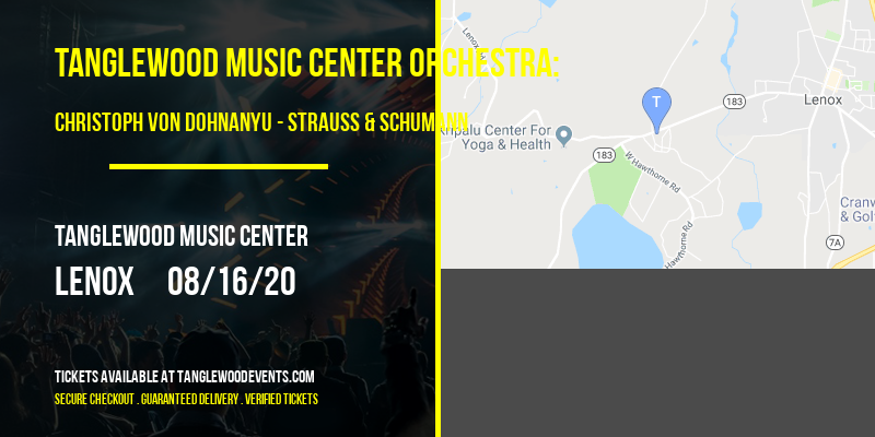 Tanglewood Music Center Orchestra: Christoph von Dohnanyu - Strauss & Schumann [CANCELLED] at Tanglewood Music Center