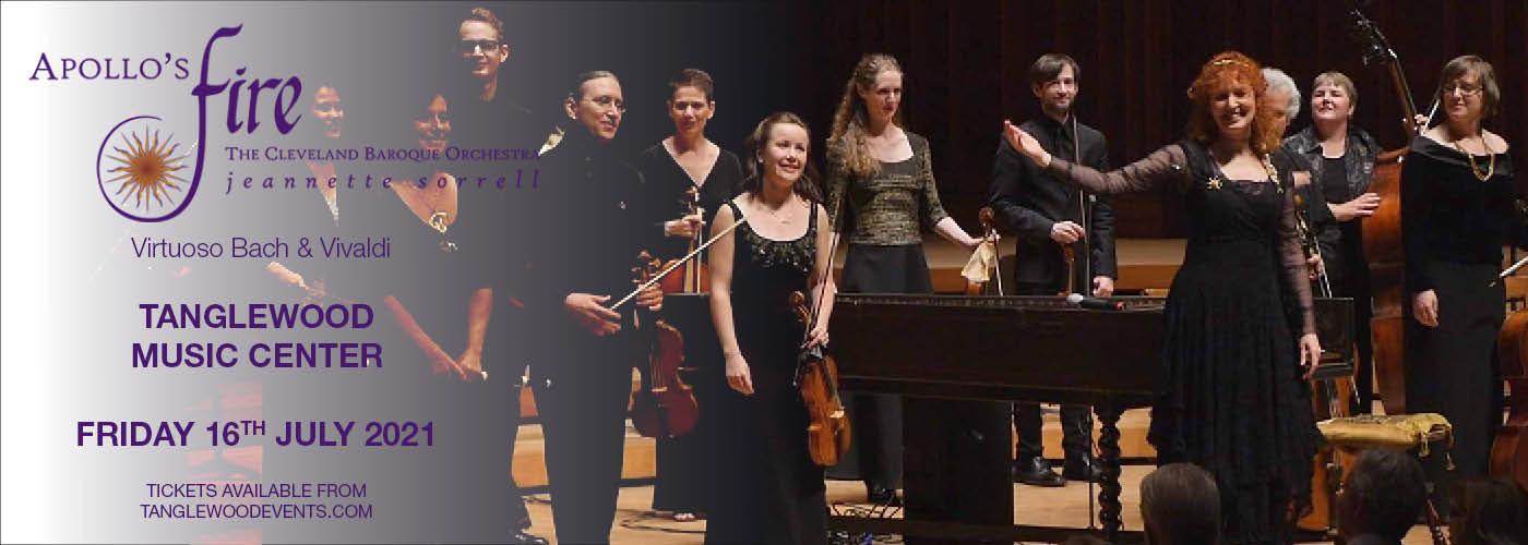 Apollo's Fire: Virtuoso Bach & Vivaldi at Tanglewood Music Center