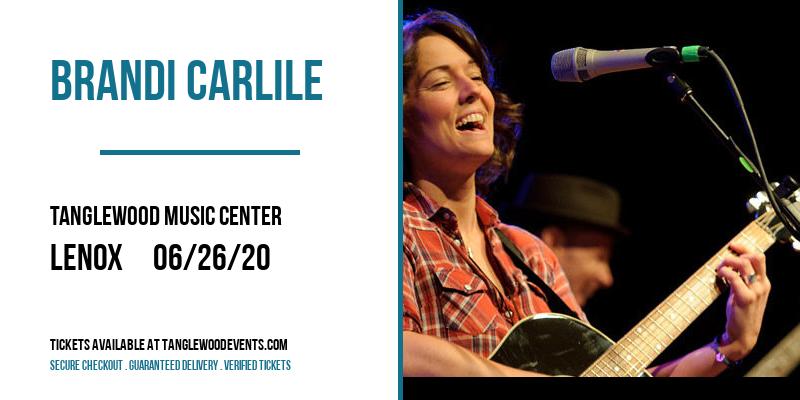 Brandi Carlile at Tanglewood Music Center