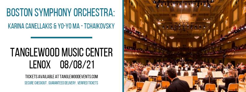 Boston Symphony Orchestra: Karina Canellakis & Yo-Yo Ma - Tchaikovsky at Tanglewood Music Center